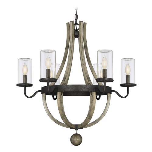Savoy House Savoy House Lighting Eden Weathervane Outdoor Chandelier 1-2100-6-70