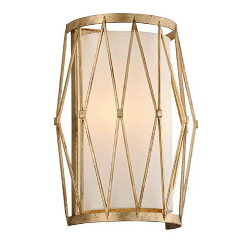 Troy Lighting Troy Lighting Calliope Rustic Gold Leaf Sconce B4862