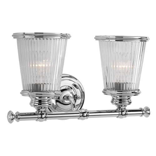 Progress Lighting Progress Lighting Radiance Polished Chrome Bathroom Light P2170-15