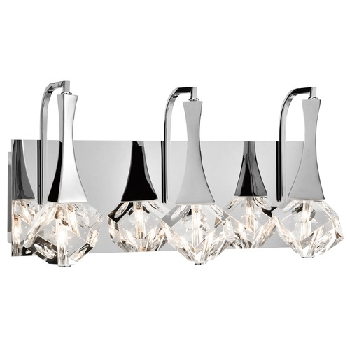 Elan Lighting Elan Lighting Rockne Chrome Bathroom Light 83136