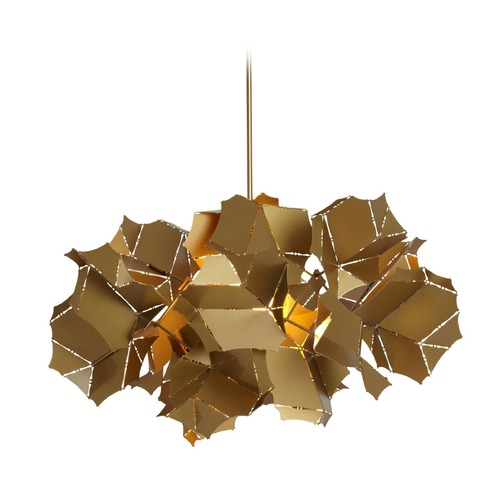 Vermont Modern Art Deco Pendant Light Gold by Vermont Modern 131020-SKT-STND-25
