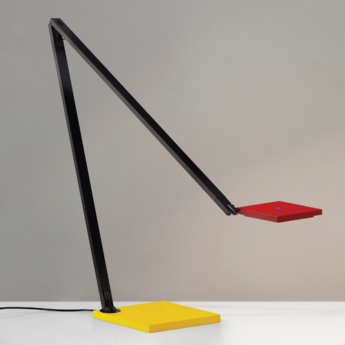 Sonneman Lighting Modern LED Task / Reading Lamp in Red/Yellow/Black Finish 2050.69