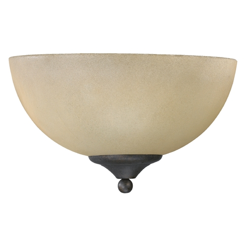Quorum Lighting Quorum Lighting Hemisphere Toasted Sienna Sconce 625-11-44