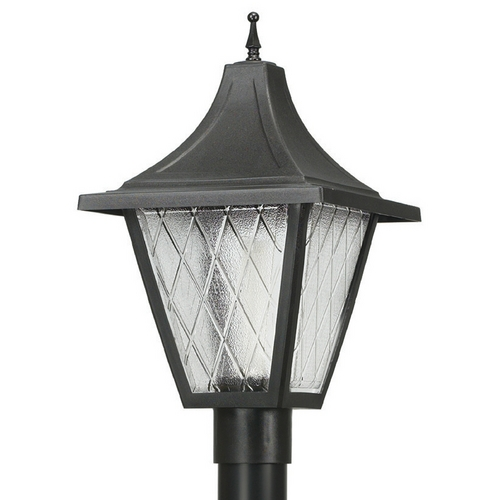 Wave Lighting Wave Lighting Marlex Vanguard Black Post Light 610C