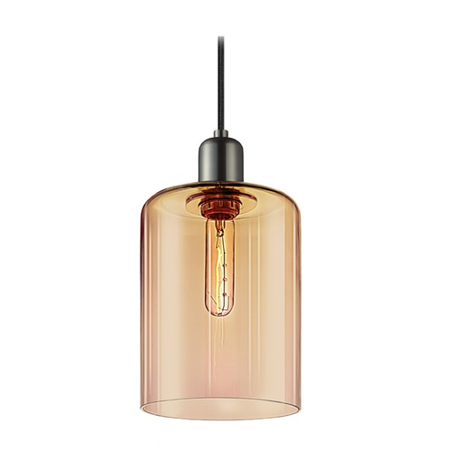 Sonneman Lighting Sonneman Cloche Retro Nickel 1 Light Mini-Pendant Light   3190.20BZ