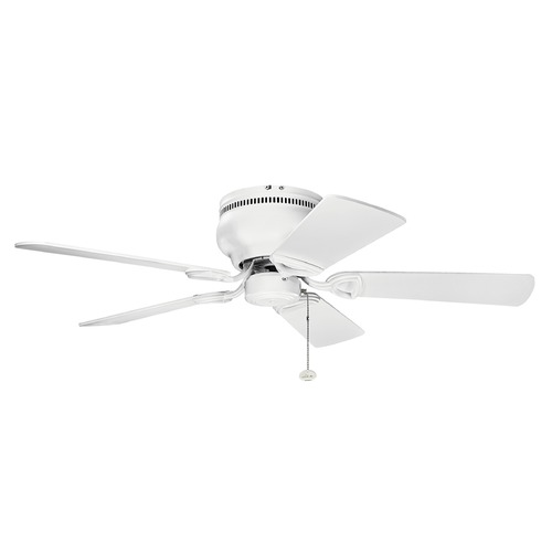 Kichler Lighting Kichler Lighting Stratmoor Matte White Ceiling Fan Without Light 339017MWH