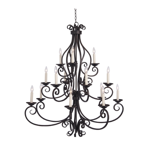 Maxim Lighting Chandelier in Oil Rubbed Bronze Finish 12219OI