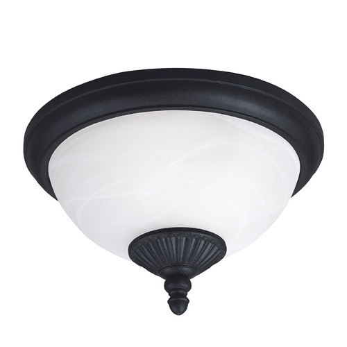 Sea Gull Lighting Sea Gull Lighting Yorktown Forged Iron LED Close To Ceiling Light 88048EN3-185