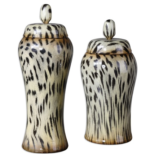 Uttermost Lighting Uttermost Malawi Containers Set of 2 19797