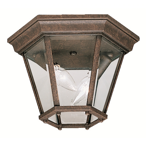 Kichler Lighting Kichler Close To Ceiling Light in Tannery Bronze Finish 9850TZ