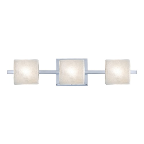 Besa Lighting Besa Lighting Paolo Chrome Bathroom Light 3WS-7873GL-CR