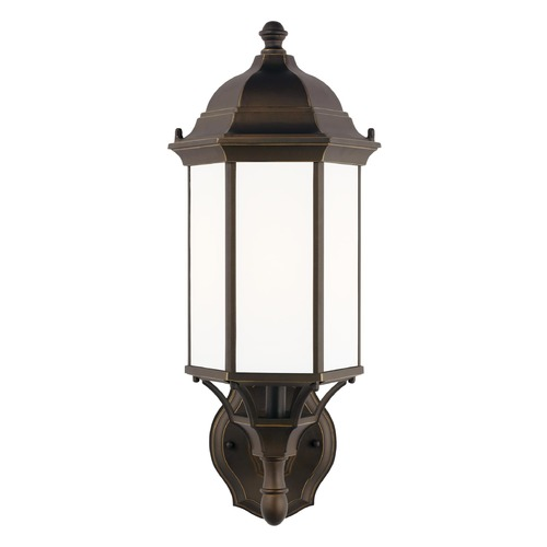 Sea Gull Lighting Sea Gull Lighting Sevier Antique Bronze Outdoor Wall Light 8838751-71