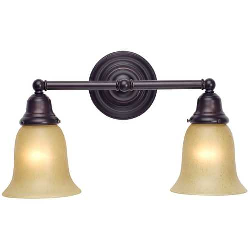 Design Classics Lighting Classic Two-Light Bathroom Light 672-30/G9999 KIT