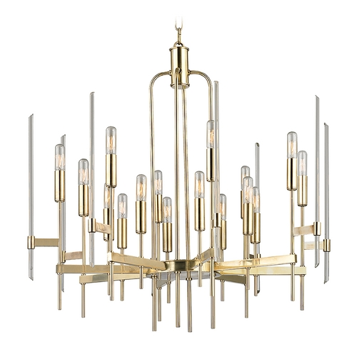 Hudson Valley Lighting Hudson Valley Lighting Bari Aged Brass Chandelier 9916-AGB