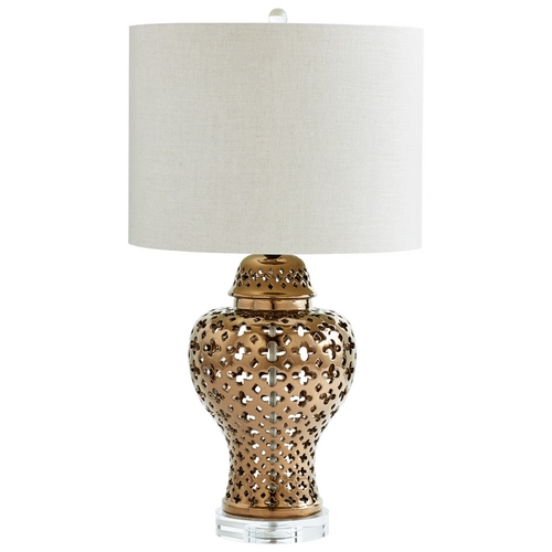 Cyan Design Cyan Design Casablanca Bronze Table Lamp with Drum Shade 06600