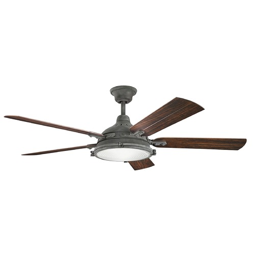 Kichler Lighting Kichler Lighting Hatteras Bay Patio Ceiling Fan with Light 310117WZC