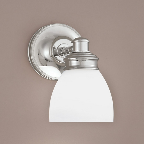 Norwell Lighting Norwell Lighting Spencer Chrome Sconce 8791-CH-OP