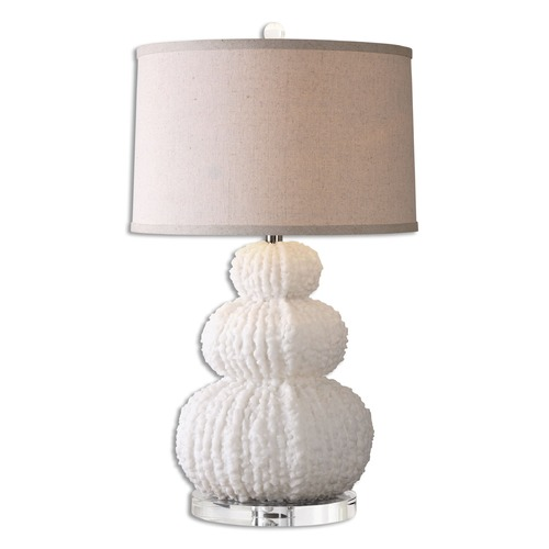 Uttermost Lighting Uttermost Fontanne Shell Ivory Table Lamp 26671