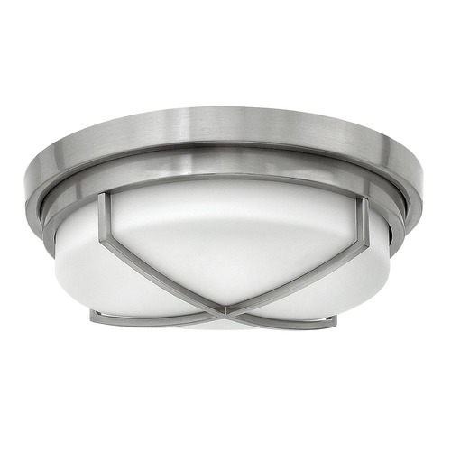 Hinkley Lighting Hinkley Lighting Halsey Brushed Nickel Flushmount Light 4381BN