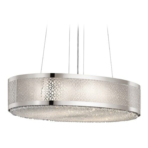 Elan Lighting Elan Lighting Massimo Polished Nickel Pendant Light 83684