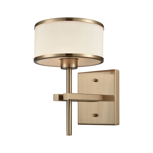 Elk Lighting Elk Lighting Utica Satin Brass Sconce 11615/1