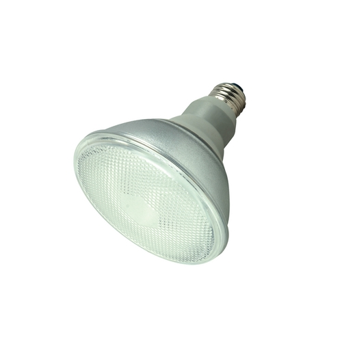 Satco Lighting 23-Watt Warm White PAR38 Compact Fluorescent Light Bulb S7201