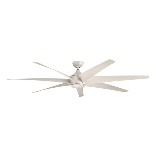 Kichler Lighting Kichler Lighting Lehr Antique Satin Silver Ceiling Fan Without Light 310115ANS