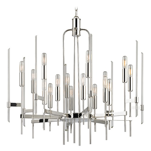 Hudson Valley Lighting Hudson Valley Lighting Bari Polished Nickel Chandelier 9916-PN