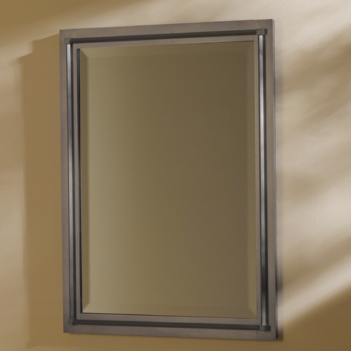 Hubbardton Forge Lighting Rook Rectangle Mirror 714901-07