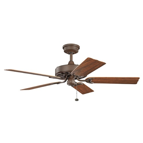 Kichler Lighting Kichler Lighting Fryst Patio Ceiling Fan Without Light 310128TZP