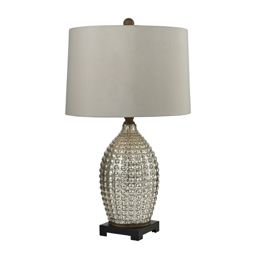 Dimond Lighting Dimond Lighting Antique Mercury, Bronze Table Lamp with Drum Shade D2601