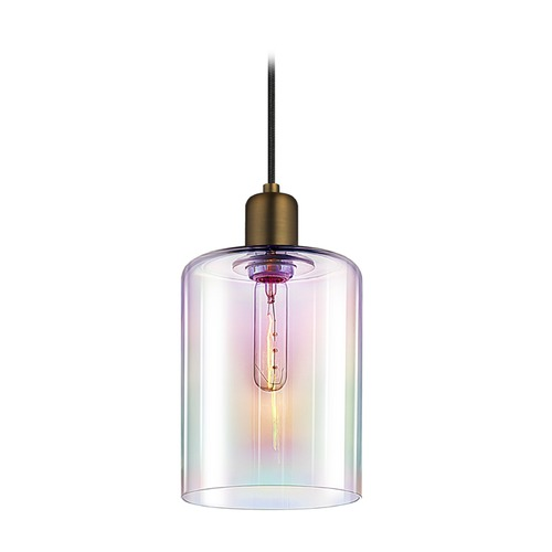 Sonneman Lighting Sonneman Cloche Retro Brass 1 Light Mini-Pendant Light   3190.21D