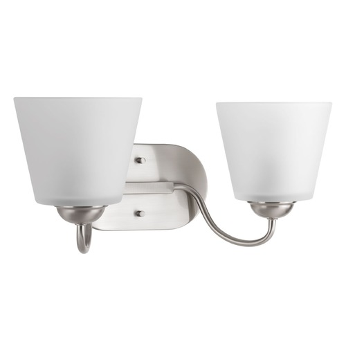 Progress Lighting Progress Lighting Arden Brushed Nickel Bathroom Light P2128-09