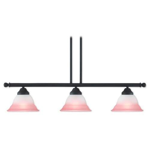Livex Lighting Livex Lighting Wynnewood Bronze Island Light with Bell Shade 40726-07