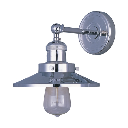 Maxim Lighting Sconce Wall Light in Polished Nickel Finish 25060PN/BUI