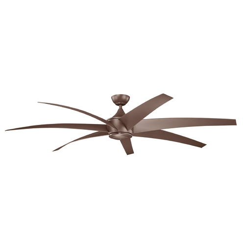 Kichler Lighting Kichler Lighting Lehr Coffee Mocha Ceiling Fan Without Light 310115CMO