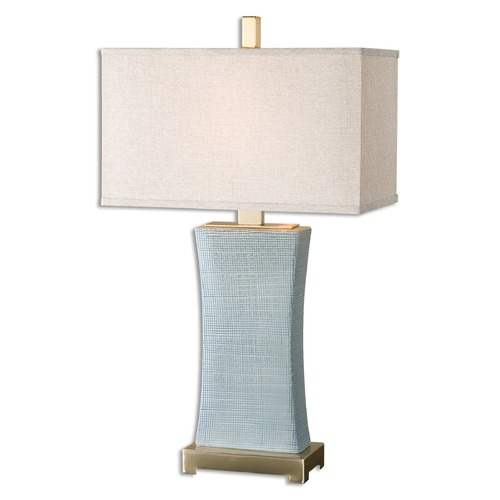 Uttermost Lighting Uttermost Cantarana Blue Gray Table Lamp 26673-1