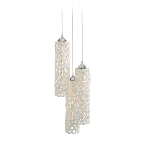 Dimond Lighting Cholla Ceramic Trio Pendant Lamp 225060