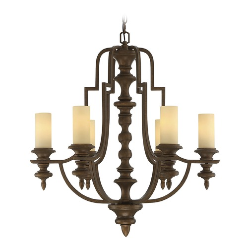 Savoy House Savoy House Lighting Castillo Midland Bronze Chandelier 1-3070-6-65