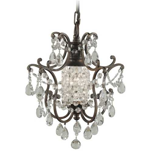 Feiss Lighting Mini-Chandelier in British Bronze Finish F1879/1BRB