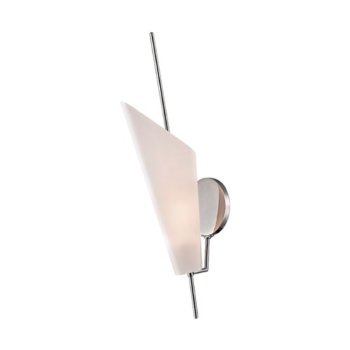 Hudson Valley Lighting Hudson Valley Lighting Cooper Polished Nickel LED Sconce 8061-PN