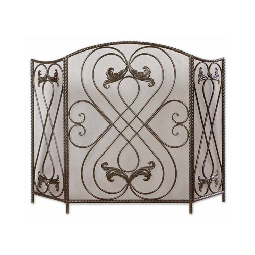 Uttermost Lighting Room Divider in Dark Brown Finish 20960