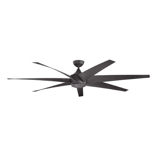 Kichler Lighting Kichler Lighting Lehr Distressed Black Ceiling Fan Without Light 310115DBK