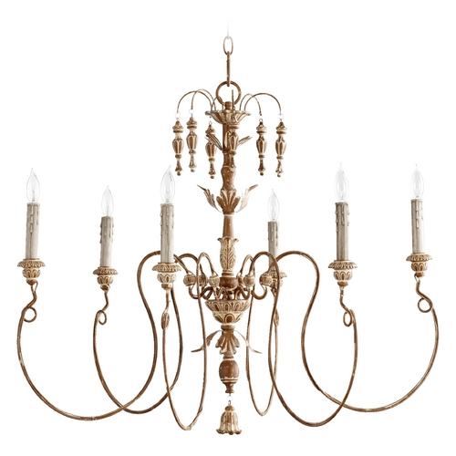 Quorum Lighting Quorum Lighting Salento French Umber Chandelier 6006-6-94