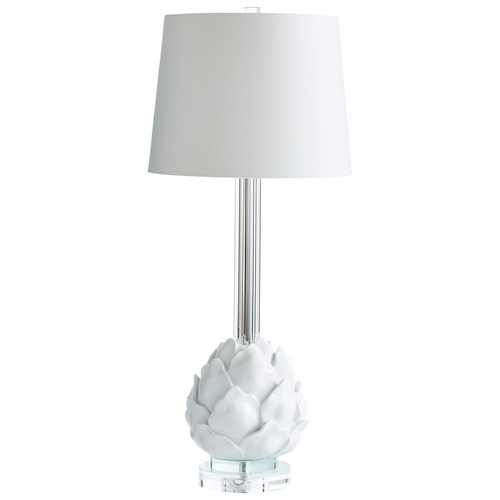 Cyan Design Cyan Design Chloe White Table Lamp with Empire Shade 06605