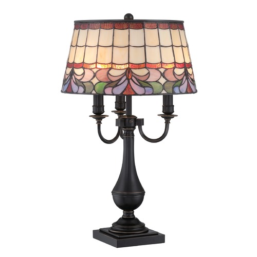 Lite Source Lighting Lite Source Lighting Thasos Dark Bronze Table Lamp with Empire Shade CF41338
