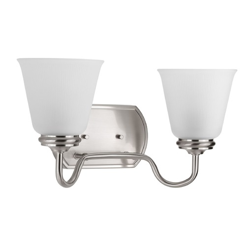Progress Lighting Progress Lighting Keats Brushed Nickel Bathroom Light P2820-09