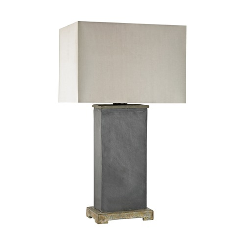 Dimond Lighting Dimond Elliot Bay Grey Slate Outdoor Table Lamp D3092