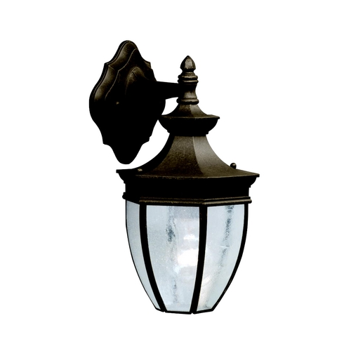 Kichler Lighting Kichler Outdoor Wall Light with Clear Glass in Tannery Bronze Finish 9368TZ