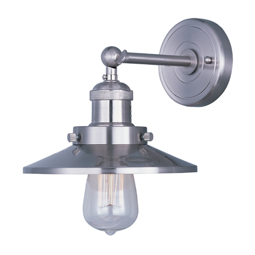 Maxim Lighting Sconce Wall Light in Satin Nickel Finish 25060SN/BUI